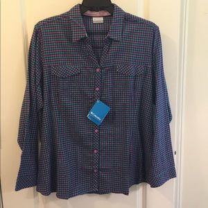 NWT Columbia fleece shirt